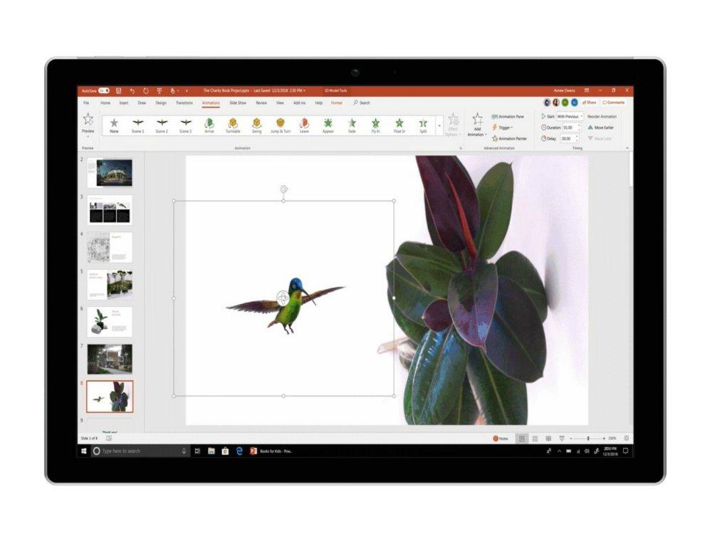 office 365 11月のアップデートで新しいインク機能や3dエフェクトが追加