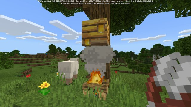 Minecraft Guide to Bees: Honey blocks, beehives, release date, and