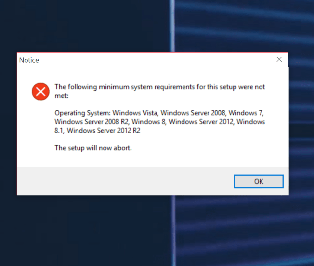 It Can Run On Windows  However If You Just Try To Install It You Are Going To Get An Error Message