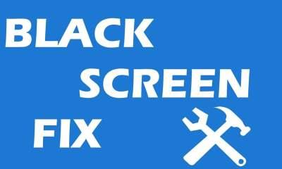 black screeen fix