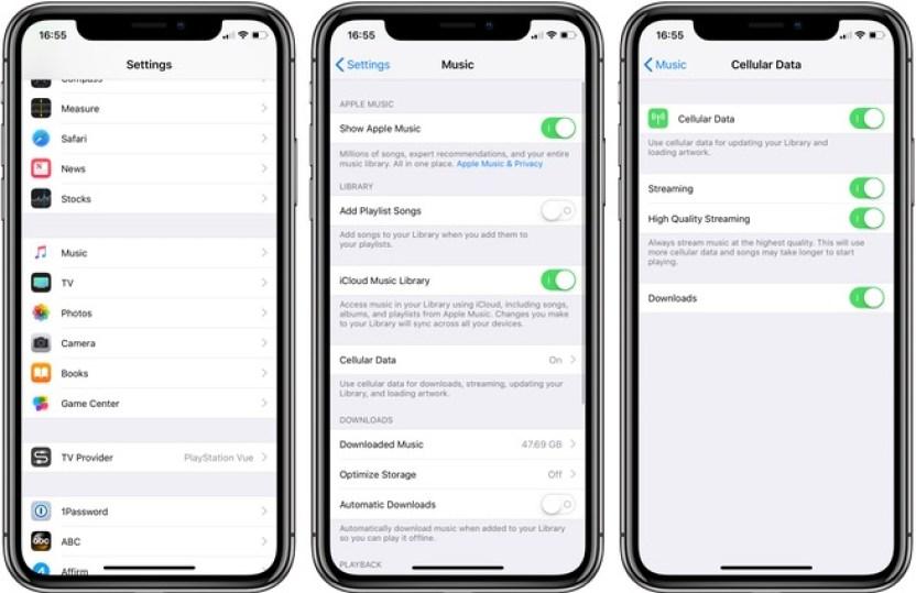 Etkin-Apple-Müzik-Mobil-Verileri