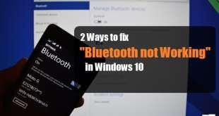 2 Ways to Fix Bluetooth Not Working on Windows 10   Windows 10 Bluetooth   Windows 10 Bluetooth Not Working