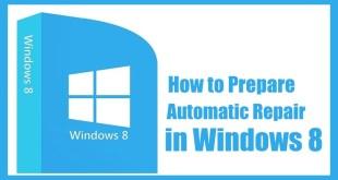 Preparing Automatic Repair in Windows 8   Windows 8   Windows 8 Repair   Fix Windows 8