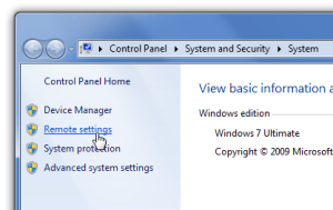 How to enable remote desktop on Windows 7 1