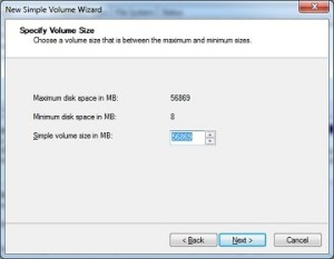 How to partition hard disk in windows 7