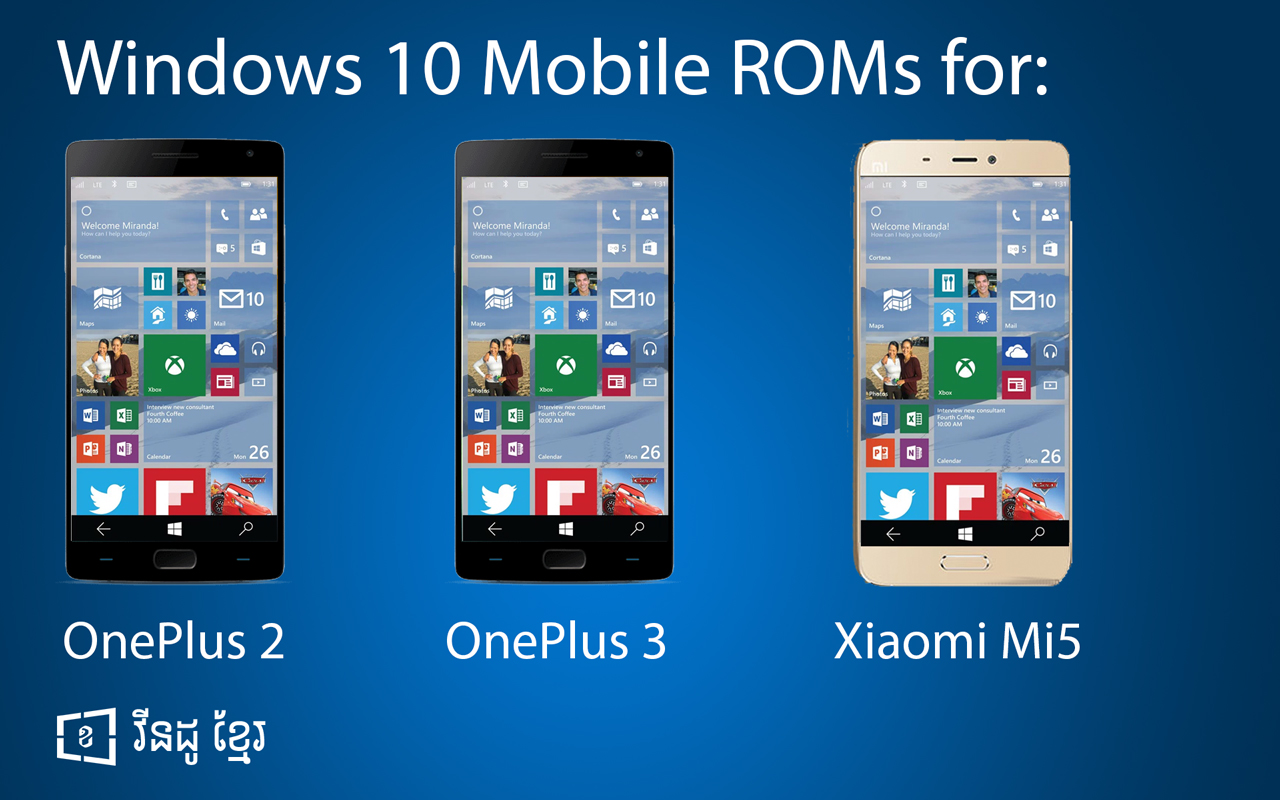 Microsoft Will Release Windows 10 Mobile ROMs for OnePlus ...