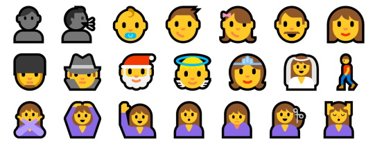 emoji peoples
