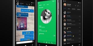 WhatsApp concept for Windows Phone