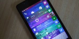 Windows 10 Mobile on Lumia 535