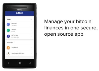 BitPay for Windows Phone