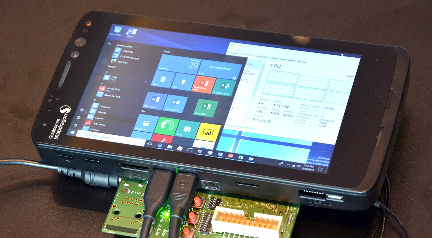 New Images Of Windows 10 Smartphone Prototype With