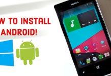 Android on Lumia