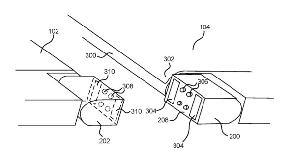 Surface Phone hinge patent