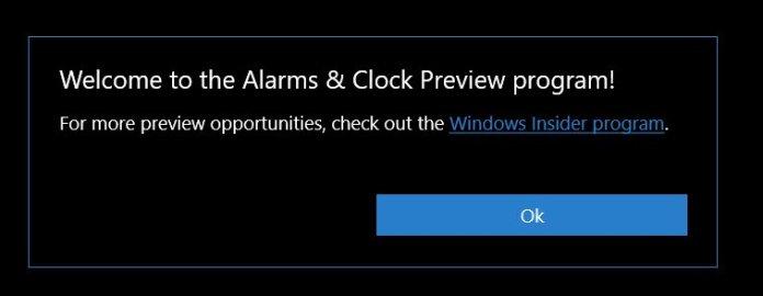 Windows 10 app insiders