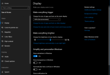 Windows 10 accessibility improvements