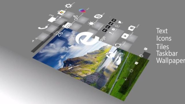 Windows Core OS concept in 3D