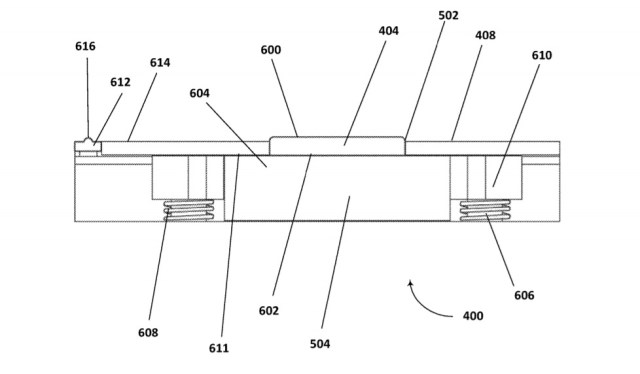 Microsoft patent for thermal dock