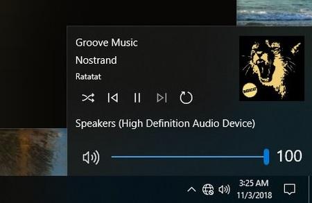 Volume Controls in Windows 10