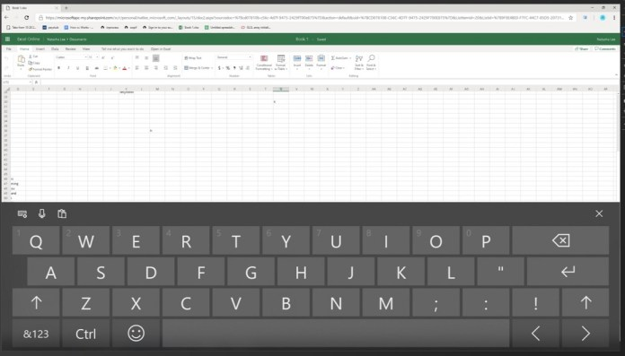 Excel in Chrome