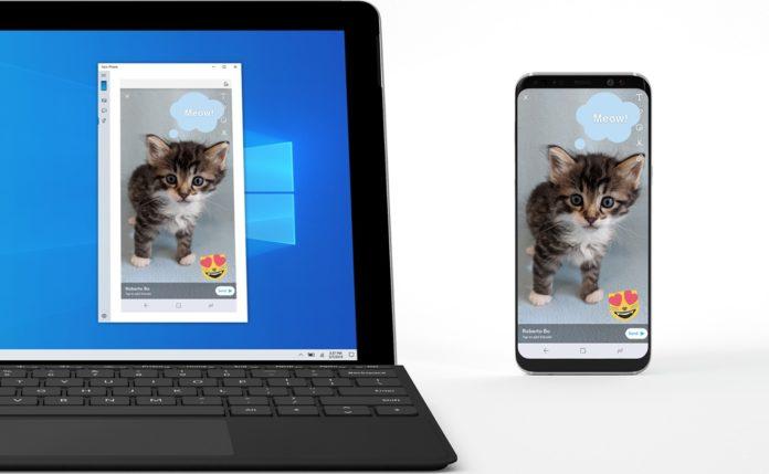Windows 10のミラーリング機能