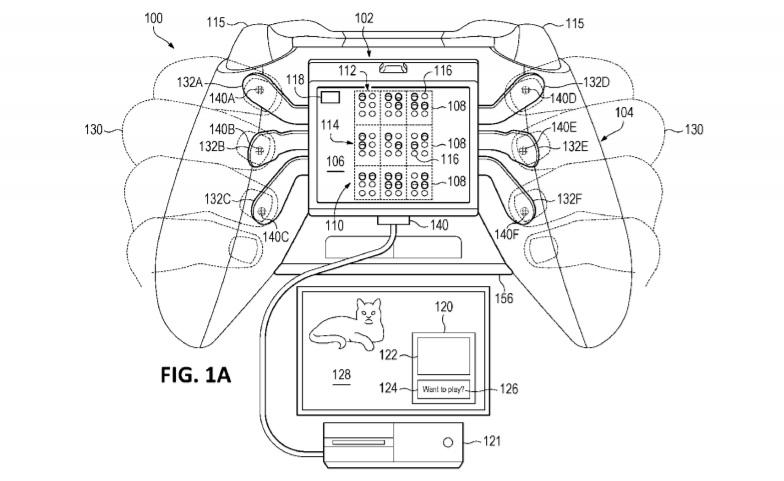 Xbox Oneコントローラー特許