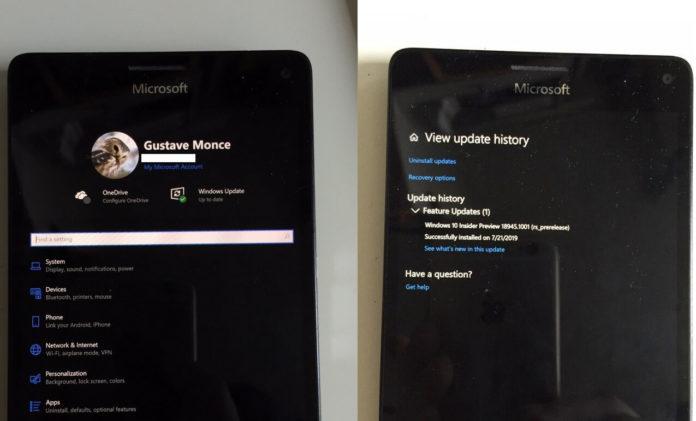 Lumia 950 XL with Windows 10