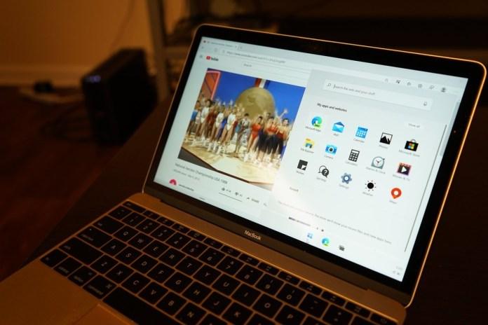Windows 10X on MacBook