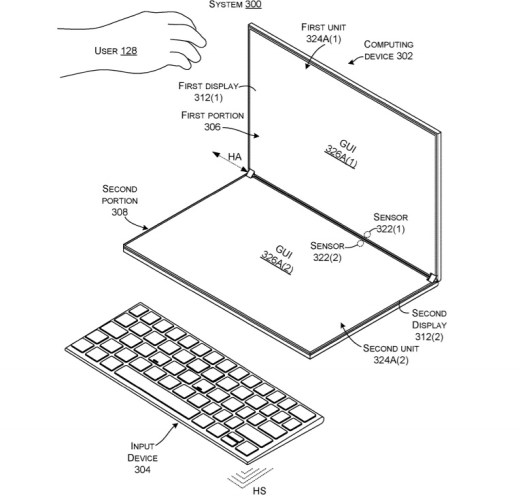 Surface Neo reconfig patent