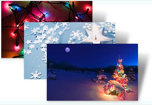 Windows 7 Holiday Lights Theme