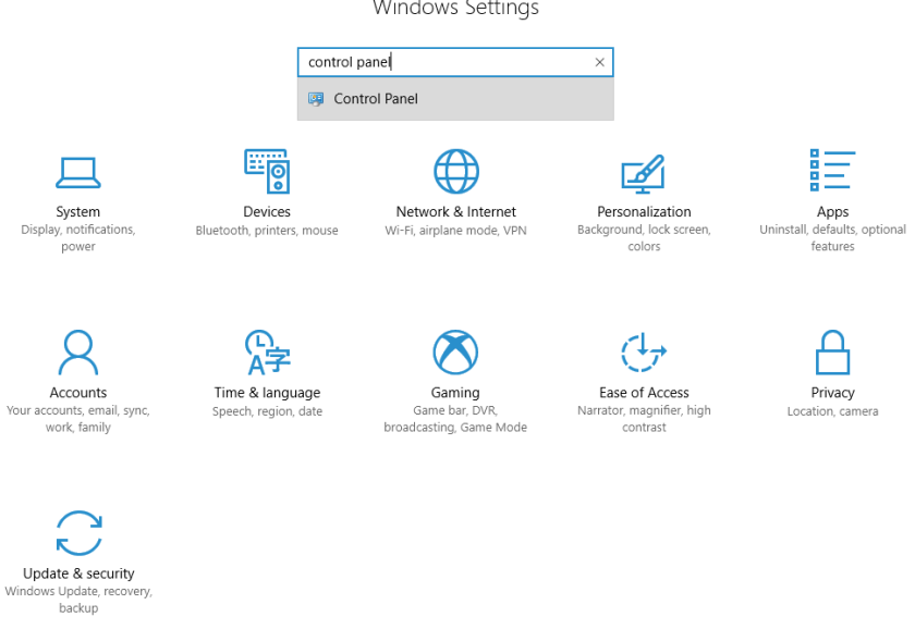 how-to-open-control-panel-from-settings-in-windows-10