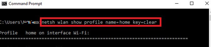 Wi-Fi Passwords On Windows 10