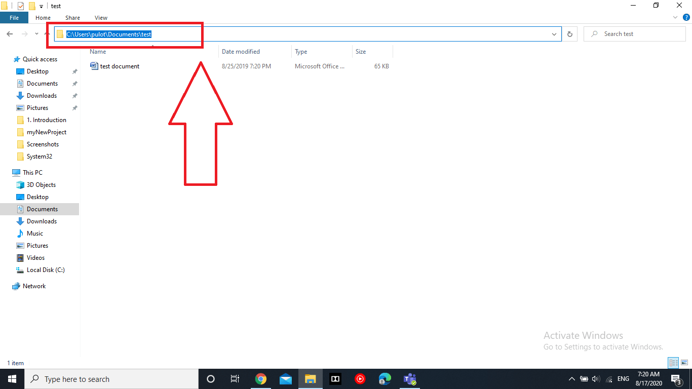 Hide and Unhide File Folders in Windows 10