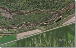 North Platte River Northwest of Sutherland, Nebraska
