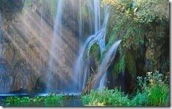 Spring of rejuvenation, Plitvice Lakes National Park, Croatia