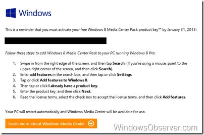 windowsmediacenterreminderwindows831jan13
