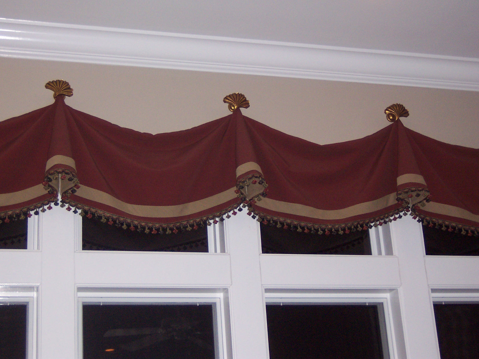 Curtain Panels With Valances