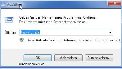 Photo of Kurztipp: Taskmanager zurücksetzen unter Windows 7