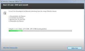 Mit Windows Defender Offline Rettungs-CD/DVD Viren, Schadsoftware, Rootkits entfernen 2