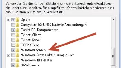 Windows 7: Programme/Dateien Suchen verschwunden 0