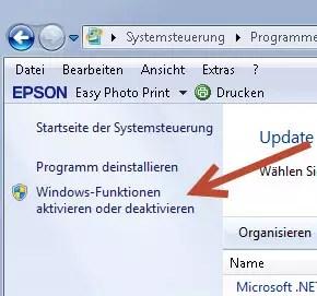 windows funktionen aktivieren oder deaktivieren