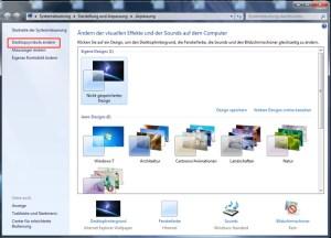 Systemsteuerung auf den Desktop ablegen 1