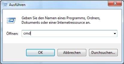 Windows 7 per CMD Befehl zeitgesteuert herunterfahren 0