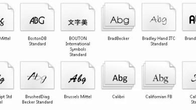 Photo of Defekte Schriftart unter Windows 7