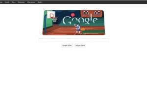 Google Doodle mit Basketball 0