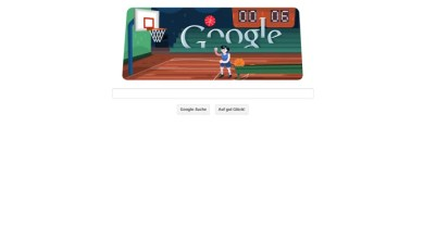 Photo of Google Doodle mit Basketball