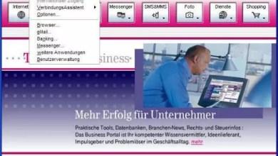 Anleitung für Internetzugang über ISDN für T-Online Startcenter 0