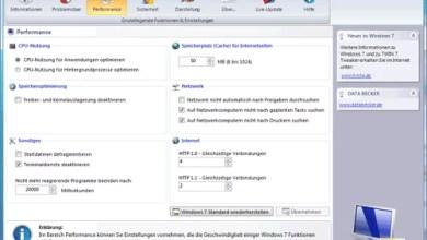 Photo of Kostenloses Tweaking-Tool für Windows 7 von Data Becker