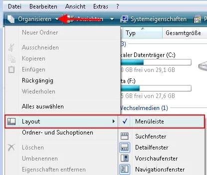 meneuleiste_organisieren_layout