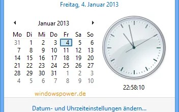 Photo of Windows 8 Sommerzeit anpassen