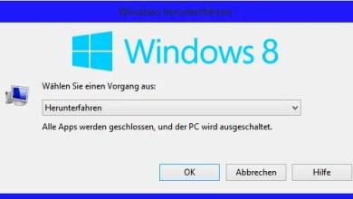 Photo of Windows 8 schneller Herunterfahren